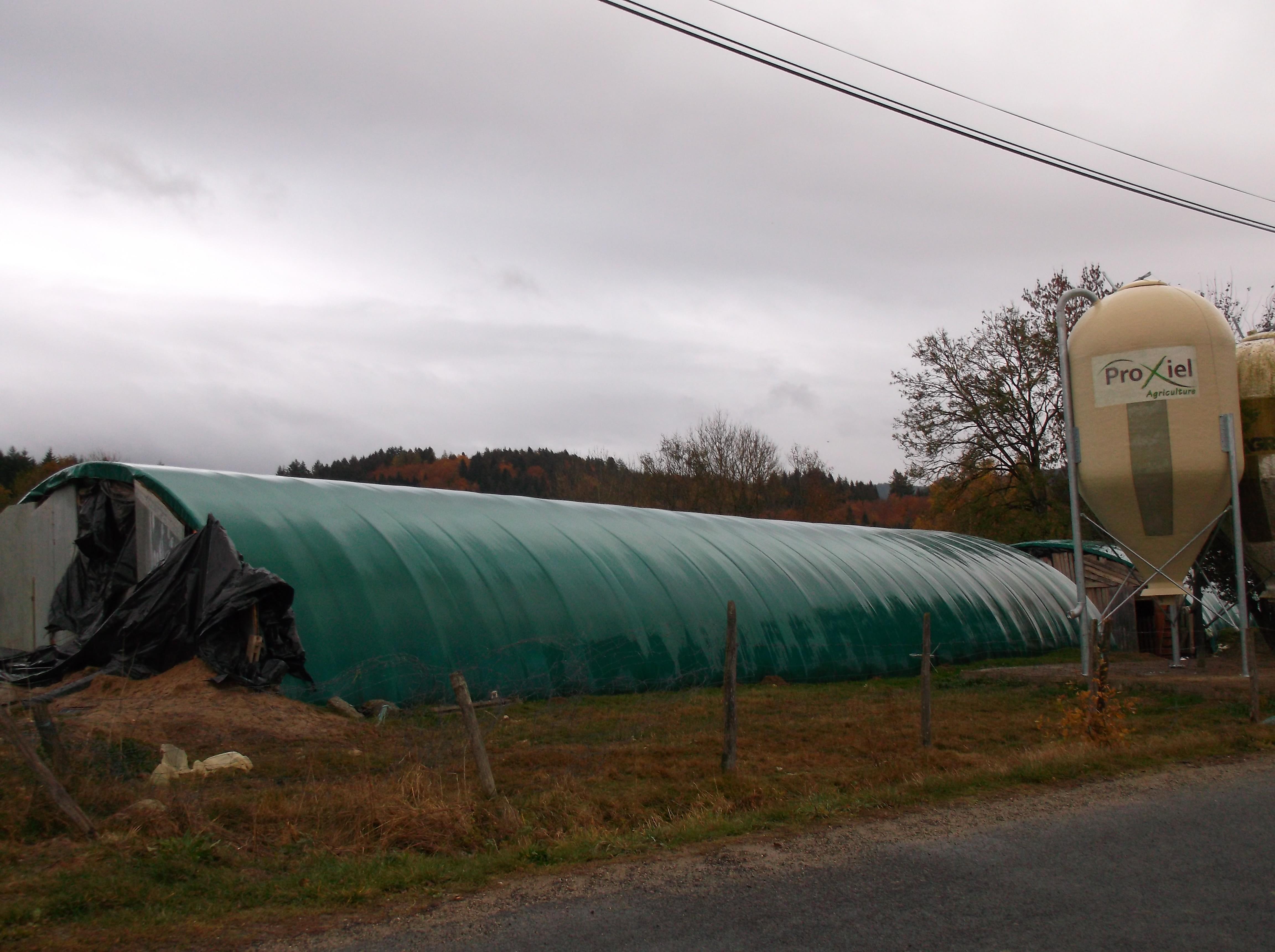 Vend exploitation agricole bio à 750m d'altitude / REF743