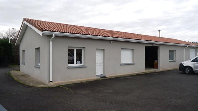 COURPIERE ZI LACHAMP – A VENDRE BATIMENT ARTISANAL 380 m² / REF1415